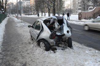 Wypadek na Ossowskiego