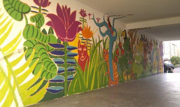 Mural na Świdnickiej