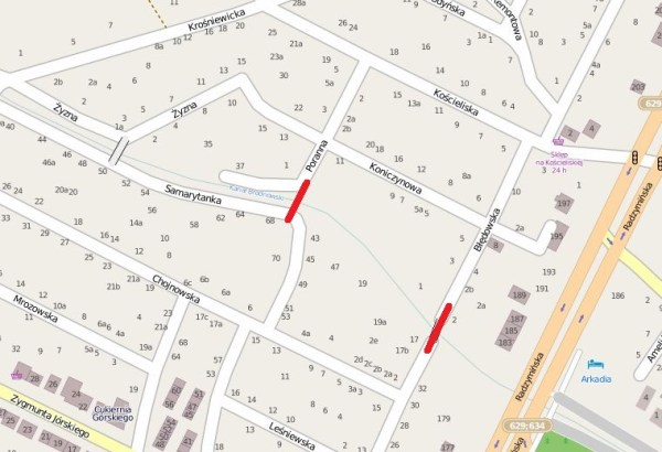 mapa Openstreetmap