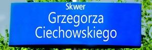 Skwer Grzegorza Ciechowskiego