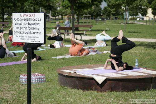 To zdjęcie pochodzi akurat z zajęć w innym parku, ale klimat jest podobny / fot. Flickr/ArakuS.