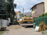 Przebudowa ul. Sennej / fot. Urząd Dzielnicy Targówek