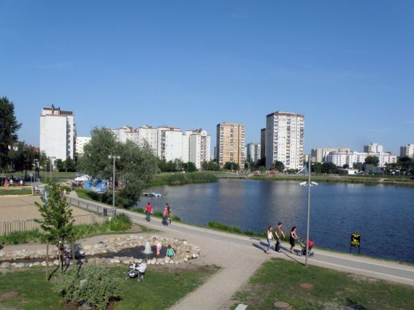 Tak wygląda Balaton na Gocławiu / fot. Alina Zienowicz / Wikiepdia / licencja GNU