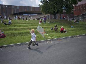 Park Odkrywców przy Koperniku / fot. CN Kopernik