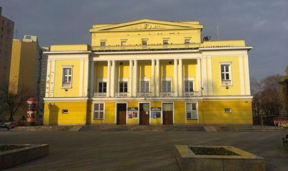 Teatr Rampa bez graffiti / fot. targowek.info