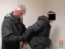 """Jeden z zatrzymanych """"wnuczków"""" / fot. Policja"""