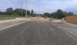 Kawałek asfaltu jest już gotowy