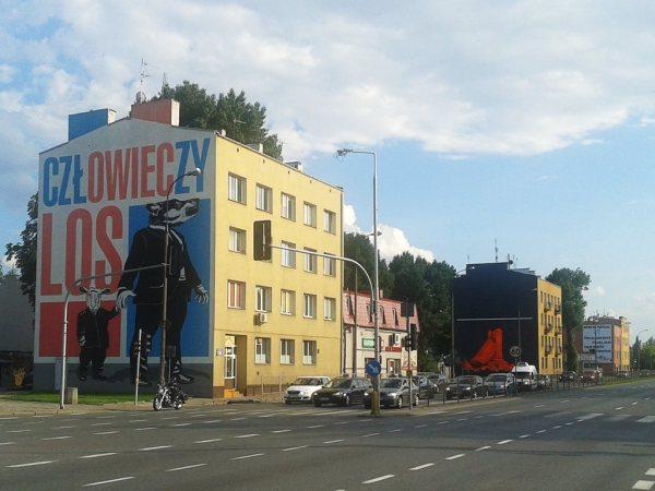 Mini-galeria sztuki ulicznej na Radzymińskiej / wszystkie zdjęcia: targowek.info