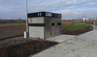 WC na skwerze przy Samarytanka / fot. targowek.info