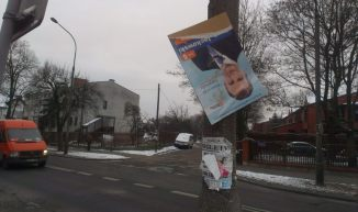 Dykta wyborcza przy Jórskiego / fot. targowek.info