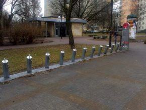 W czwartek rowerów jeszcze nie było / fot. targowek.info
