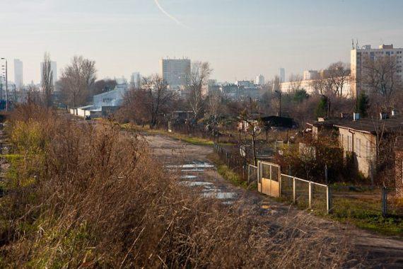 Tędy już niedługo pojedzie Trasa Świętokrzyska na Targówek /fot. ZDM