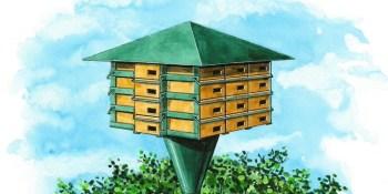 """Budowa wieży dla jeżyków w Park Wiecha kryje się pod hasłem """"Targówek bez komarów"""""""
