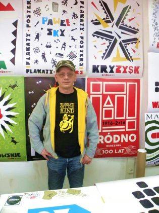 Paweł Sky i jego plakaty