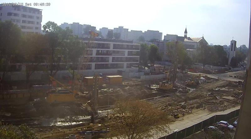 Kamera onlina budowa metra