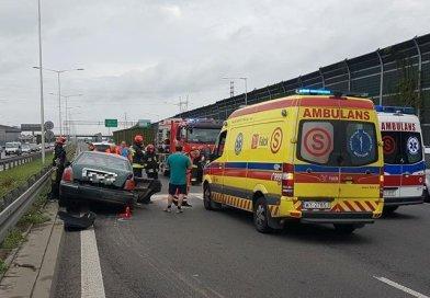 Dużo zdjęć z wypadków na Trasie Toruńskiej