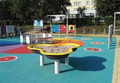 Ogród sensoryczny w Parku Bródnowskim otwarty
