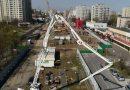 Budowa metra na Bródnie z lotu drona. Zobaczcie świetne wideo!