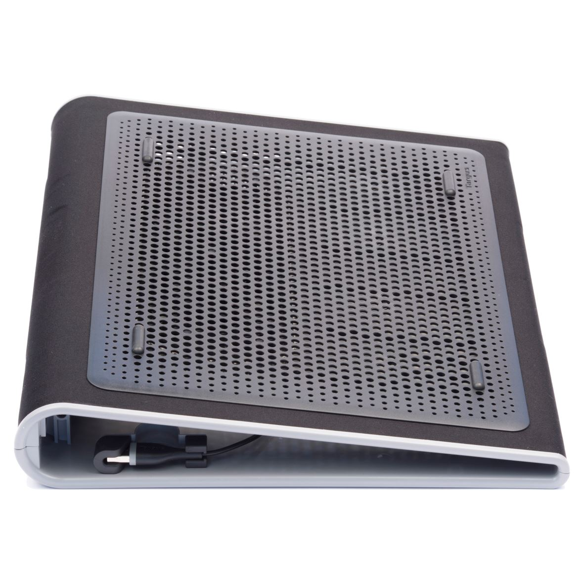 support ventile refroidisseur avec 2 ventilateurs pour ordinateurs portables de 15 17