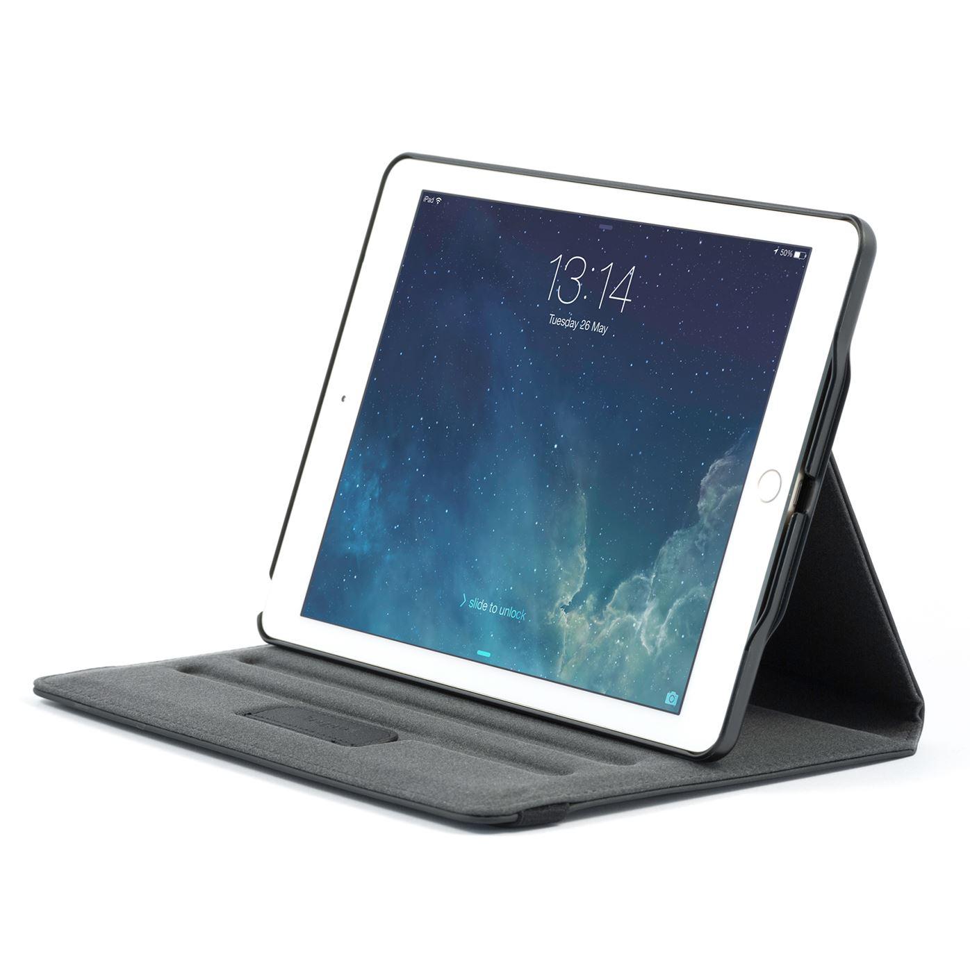 Versavu 360 Grad Case Fr Apple IPad Air 2 Schwarz