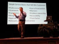 presentation of simple service basics that still win customers