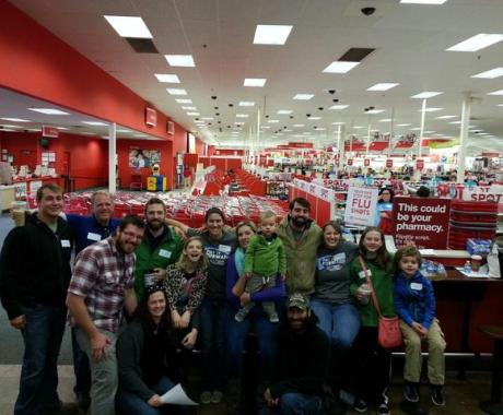 Tar Heel Employees Bring Christmas Cheer to Forsyth County Children