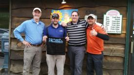 Gold Tournament with High Country Home Builders Association