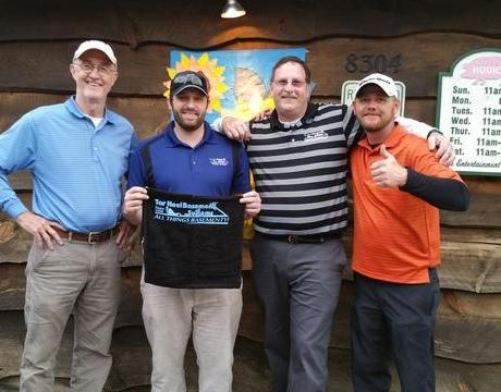 THBS Tees Off with High Country Home Builders Association