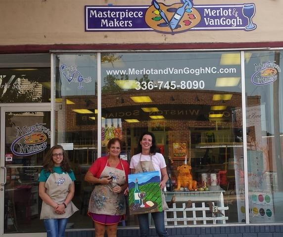 Masterpiece Makers for the Big Brother Big Sister Program