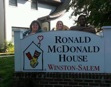 New Team Members Enjoy the Benefits of Cooking at the Ronald McDonald House