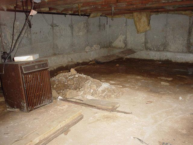 old dehumidifier rundown and broken