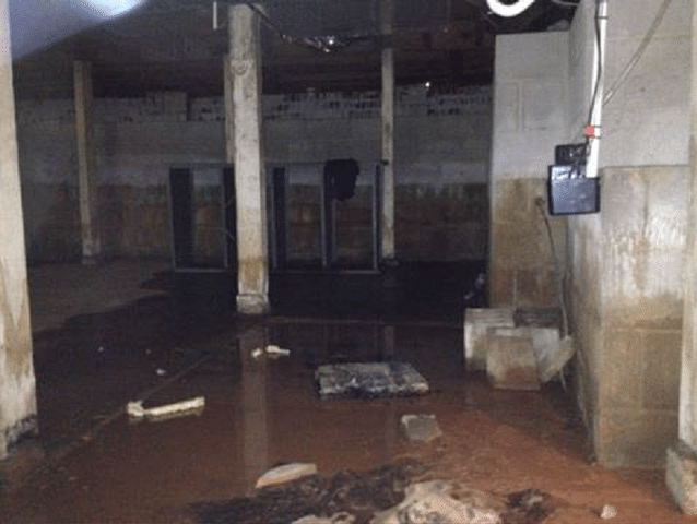 flooded basement and crawl spaces