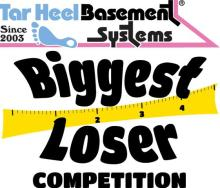 tar heel basement systems biggest loser competition