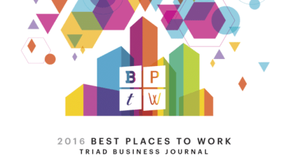 Tar Heel Basement Systems is apart of the 2016 Best Places to Work in the Triad Business Journal