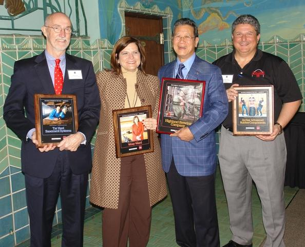 Tar Heel Receives 2014 Small Business of the Year Honors