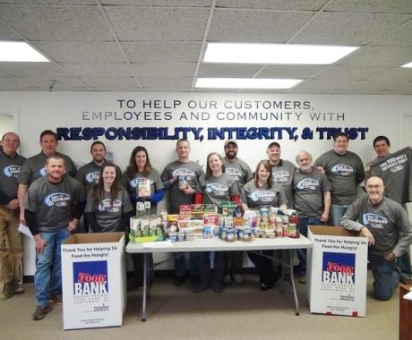 Tar Heel Pays it Forward to Second Harvest Food Bank