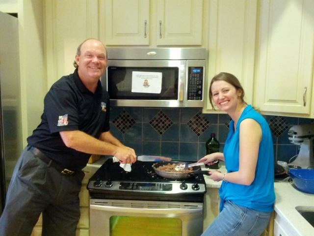 team tar heel cooks for Ronald McDonald House