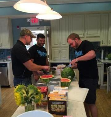 Southern Cuisine Served at the Ronald McDonald House