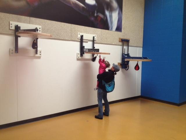 Pete and daughter visit CO Olympic Training Center