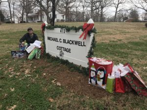 Tar Heel Basement System gives Christmas gifts for kids at the Baptist Children's Home in Thomasville