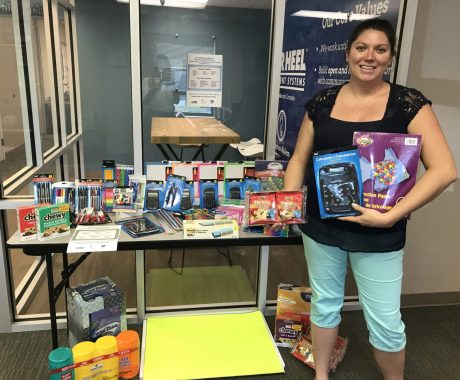 Tar Heel Basement Systems Collects School Supplies to Donate to Wake County Schools