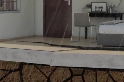 Floor Crack