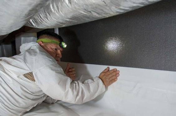 crawl space insulation and encapsulation