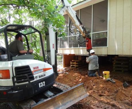 Improving the Safety of a High Rock Lake Home