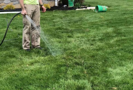 watering your lawn