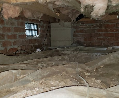 Crawl Space Cold in Winter—Does It Affect Your Home?