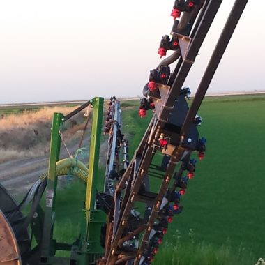 72′ Rice Sprayer Boom