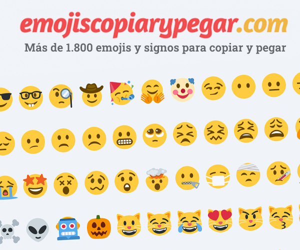 Emojis copiar y pegar