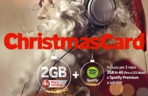 Christmas card vodafone