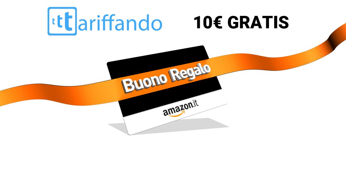 Amazon torna il buono omaggio da 10 for Promozione buono regalo amazon